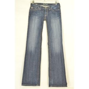 Big Star jeans 27 x 32 Sweet low boot cut dark was